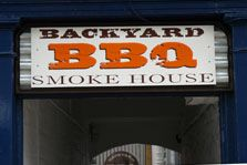Backyard BBQ Smokehouse