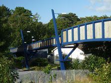 Plas Crug Foot Bridge